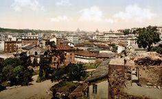 Roma, panorama, 1890
