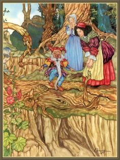 Free 4 Min Psychic Reading + Off Rest of Chat at Oranum Grimm Fairy Tales, Kids Story Books, Fairytale Art, Gnome, Various Artists, Book Illustration, Cool Artwork, Art Forms, Red Roses