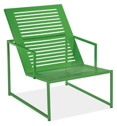 Color Verde - Green!!! Lounge chair
