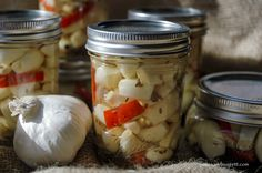 Spicy pickled garlic recipe