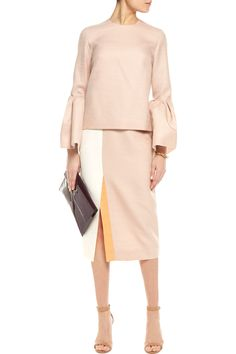 Shop on-sale Roksanda Kadence wool-blend jacquard midi skirt. Browse other discount designer Skirts & more on The Most Fashionable Fashion Outlet, THE OUTNET.COM