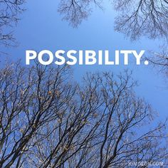 I kinda love this time of year before the trees have sprouted buds. Even though it looks stark, it's really the moment before magic happens and that fills me with excitement of the possibilities ahead. Here's to #possibility. www.kimdeon.com