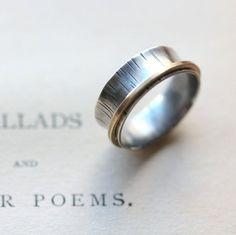 Sterling Spinner Rings by JarosDesigns