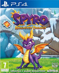 Spyro Reignited Trilogy - PlayStation 4 : All 3 original Spyro games fully remastered in HD Includes Spyro the Dragon, Spyro Ripto's Rage! and Spyro: Year of the Dragon levels, remastered with breathtaking graphical updates and improved gameplay controls Jeux Xbox One, Xbox One Games, Ps4 Games, Games Consoles, Spyro Le Dragon, Spyro 2, Playstation, Xbox Xbox, Crash Bandicoot