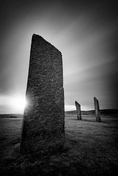 Standing Stones Of Stenness © David Bowman