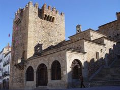 .Ermita de la Paz en Cáceres