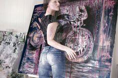 Ingrid Sørensen / Ingrid Sorensen www.no Danser maler koreograf billedkunstner norsk Deviantart, Studio, Painting, Dance In, Study, Painting Art, Paintings, Studying