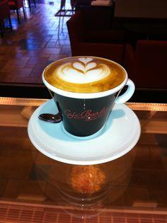 the perfect Italian espresso by Cafe' Barbera