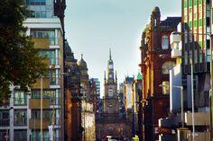 City Center in Glasgow.