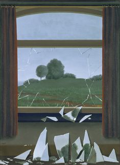 Ren C A Magritte www,tuttartpitturasculturapoesiamusica,com () Rene Magritte, Surrealist Collage, Surrealism Painting, Magritte Paintings, Best Canvas, Kunst Poster, Camille Pissarro, Famous Art, Art Moderne