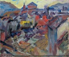 Evening, The Old City & Cathedral, David Bomberg