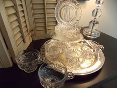 Vintage TEA CUPS and SAUCERS Set of Five by VintageCreativeAccen
