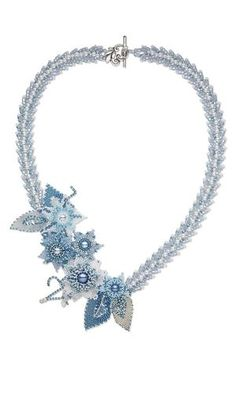 Single-Strand Necklace with Seed Beads, Swarovski Crystal Beads and Glass Pearls - Fire Mountain Gems and Beads: