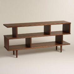 One of my favorite discoveries at WorldMarket.com: Walnut Brown Wood Ashlyn Bookshelf