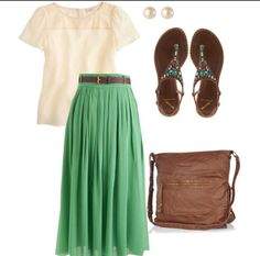 Such a cute outfit and so simple