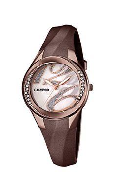 Calypso  watches Damen-Armbanduhr K5598 Analog Quarz Plastik K5598/B - http://autowerkzeugekaufen.de/calypso/calypso-watches-damen-armbanduhr-k5598-analog-b