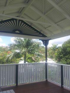 Deking Pty Ltd, Gable Roof Deck, Handrail and Fretwork Brisbane, Queensland, Australia 1800DEKING for a Free Quote