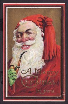 Santa Claus 1912 .  Evil Santa