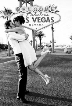 I want to have a Vegas RE-Wedding! I had the pretty dream wedding now give me the fun wedding! Plus, you know Vegas in general would be cool :) Las Vegas Strip, Las Vegas Weddings, Real Weddings, Las Vegas Wedding Photographers, Nevada, Married In Vegas, Wedding Blog, Wedding Ideas, Wedding Bride