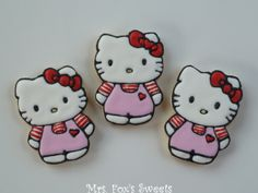 Ms. Fox's Sweets: Hello Kitty Cookies