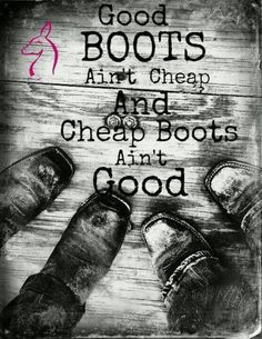 Good pair of boots are hard to find, but when you do they are your best friend.
