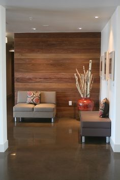 Reception Area Ideas Small Office Reception Seating Waiting Area Ideas How Does Your Ga Apartment Entrance, Lobby Design, Lobby Interior Design, Church Lobby Design, Office Reception Seating, Apartment Decor, Office Waiting Rooms, Interior Design, Office Design