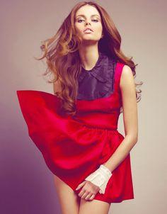 Love this color! Designer: Alexandre Vauthier