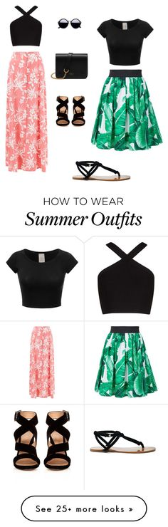 """Summer Outfits"" by avocadocrew on Polyvore featuring BCBGMAXAZRIA, New Look, Sole Society, Dolce&Gabbana, Mulberry and Gianvito Rossi"