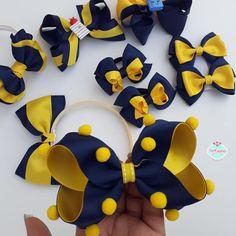 Diy Ribbon, Ribbon Hair, Diy Hairstyles, Pretty Hairstyles, Boutique Hair Bows, Diy Hair Accessories, Girl Hair Bows, Cute Bows, Hair Band