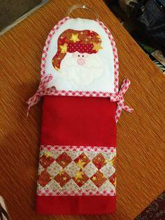 Bate mão Papai Noel