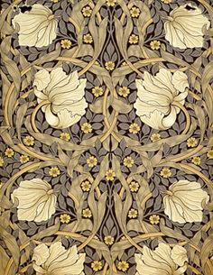 24 New Ideas Art Nouveau Design Pattern Illustration William Morris Motifs Art Nouveau, Design Art Nouveau, Motif Art Deco, Art Nouveau Pattern, William Morris Wallpaper, William Morris Art, Morris Wallpapers, Textiles, Flowers Illustration