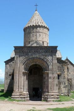 Entrance of the church of Sts. Paul and Peter in Tatev Monastery, Armenia