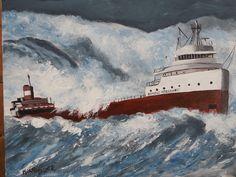 Edmund Fitzgerald Sinking