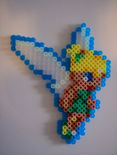 Tinker Bell hama beads by Juan José Prieto