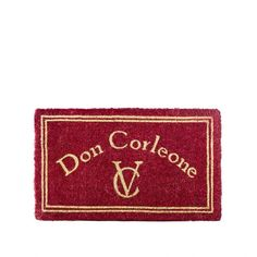 Wycieraczka Ta-Da! Design Don Corleone - Prezenty dla Niego - Prezenty Bestsellery - Prezenty - CzerwonaMaszyna.pl