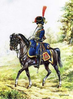 Artillerie de la Garde a Cheval Officier