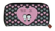 Angry Little Girls Only For Today Wallet