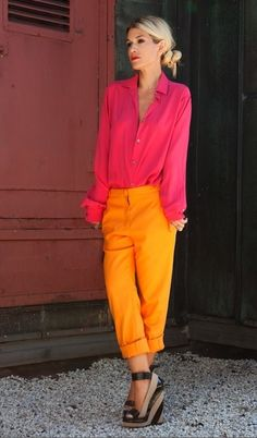 bright colors <3
