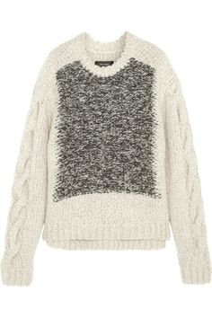 Isabel Marant's chunky 'Sao' sweater is perfect for cozying up on cooler days.