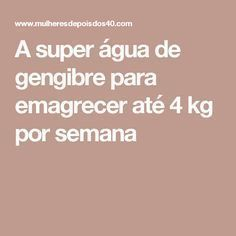 A super água de gengibre para emagrecer até 4 kg por semana Fitness Diet, Fitness Motivation, Health Fitness, Ovarian Cyst Treatment, Dietas Detox, Menu Dieta, Bebidas Detox, Hypothyroidism Diet, Lose Weight