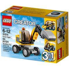 Đồ chơi LEGO 31014 Power Digger – Xe máy xúc