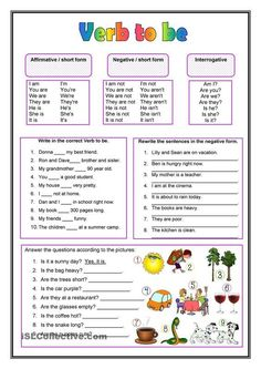 Awesome Verb Be Worksheets that you must know, Youre in good company if you?re looking for Verb Be Worksheets English Grammar Worksheets, Verb Worksheets, English Verbs, English Vocabulary, Printable Worksheets, English For Beginners, English Tips, English Lessons, Learn English
