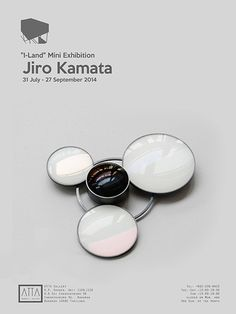 Klimt02: Jiro Kamata: I-Land Bangkok Thailand exhibitions unique custom jewelry custom handmade jewellery exhibitions