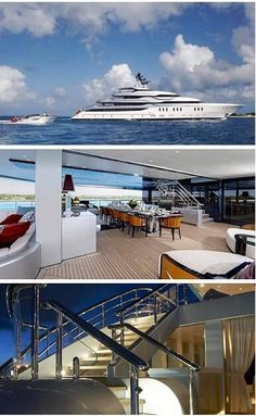 Extravagant yachts for you to pin and dream of... Get more ideias from https://glamshelf.com