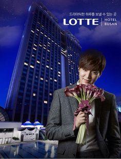 #LeeMinHo for Lotte Hotel Busan