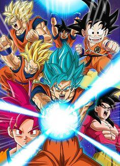 Goku - DB - DBZ - DBGT - DBS