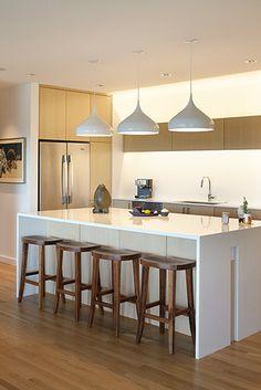 no corner of hard to reach cabinets in kitchen