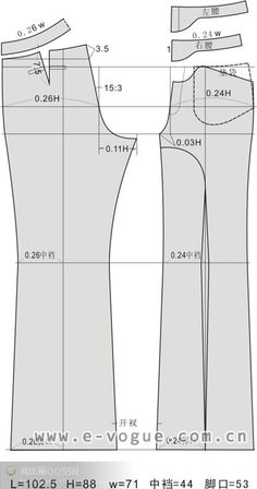 Clothing plate - curvature principle clothing version type structure #sewing #patternmaking #dressmaking