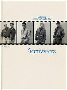 GIANNI VERSACE | Catalogo # 2  Collezione Uomo Primavera/Estate 1982 (Fronte)