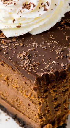 Chocolate Mascarpone Cheesecake